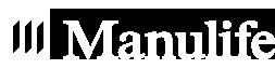 Manulife white logo