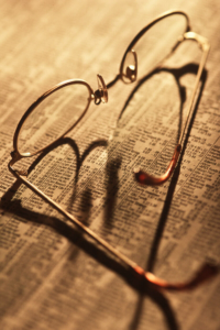Close-up of glasses by Pierre Arsenault Photo