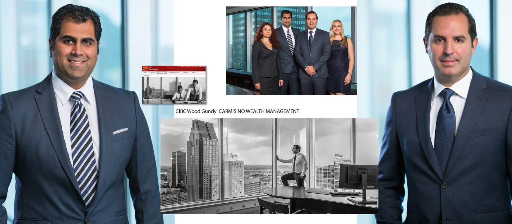 Corporate-Photo-Montage-of-CIBC-Wood-Gundy-Darren-Carmisino-Wealth-management