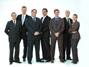 Executive group portrait by Pierre Arsenault, corporate photographer in Montreal