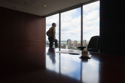 Executive portrait by Pierre Arsenault, corporate photographer