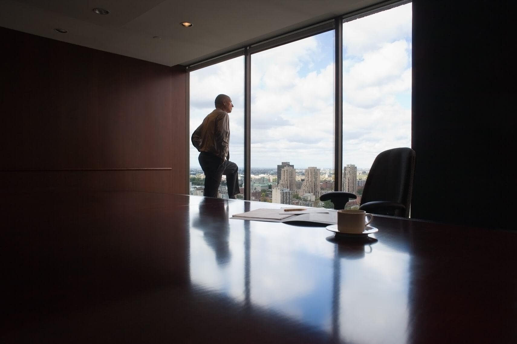 Executive portrait by Pierre Arsenault, corporate photographer
