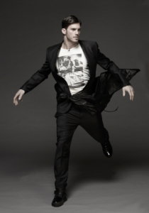 Man in black - fashion photography by Pierre Arsenault