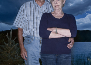 Couple portrait by Pierre Arsenault, portrait photographer in Montreal