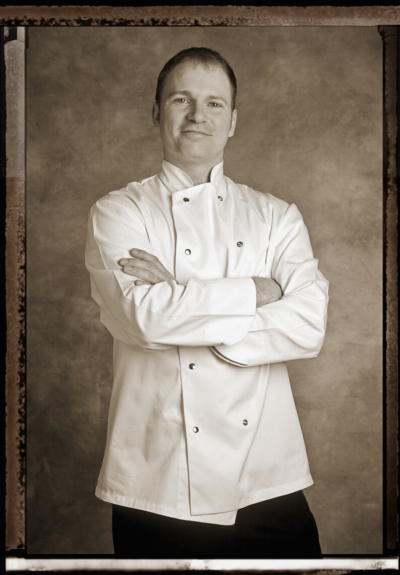 Chef Portrait by Pierre Arsenault, portrait photographer in Montreal